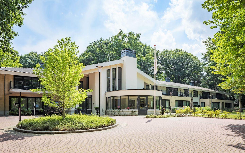 Vooraanzicht Villa Hoefsaete